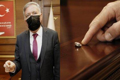 CHP'li başkanın makam odasında dinleme cihazı bulundu