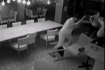 CHP'li Didim Belediye Başkanı'na saldırının görüntüleri ortaya çıktı