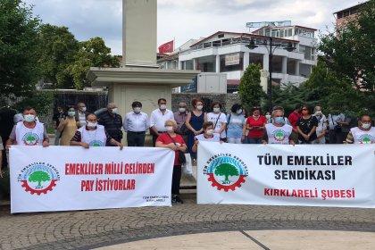 CHP'li Güncer'den Tüm Emekliler Sendikası'nın basın açıklamasına destek