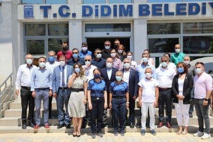 CHP'li Hamzaçebi'den Didim Belediye Başkanı Deniz Atabay'a ziyaret