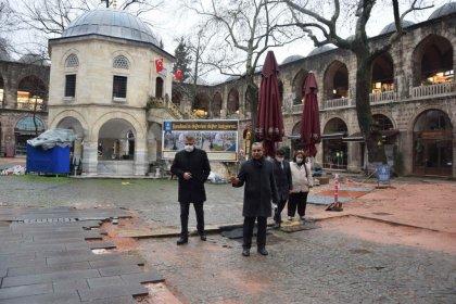 CHP'li Karaca'dan AKP'li Bursa Büyükşehir Belediyesi'ne: Koza Han'da zararı kim karşılayacak?