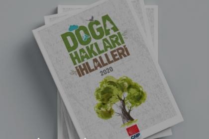 CHP'nin 'Doğa Hakları İhlalleri 2020' kitabı yayınlandı