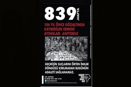 Cumartesi Anneleri: Gözaltına alınıp bir daha geri dönemeyen İstanbullu Ermeni aydınları anıyoruz