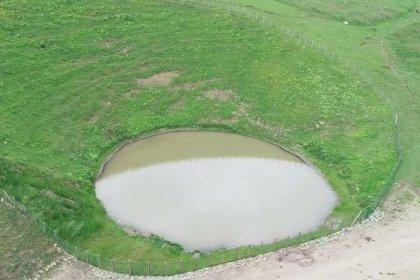 Define için yasal izin verilerek tahrip edilen Dipsiz Göl çamurlu bir yapay göl oldu!
