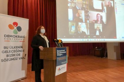 Demokrasi Konferansı: Hak ihlallerine, baskı ve hukuksuzluğa karşı güçlü bir itiraz sesi yükseltmek için yola çıkıyoruz