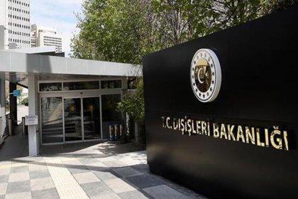 Dışişleri Bakanlığı'ndan ABD'ye Gergerlioğlu ve HDP yanıtı