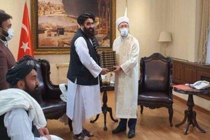 Diyanet İşleri Başkanı Ali Erbaş, Taliban'la görüştü
