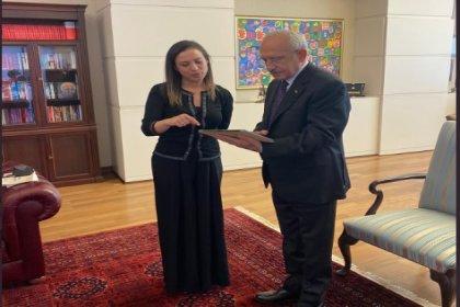 Efes Selçuk Belediye Başkanı Ceritoğlu'ndan Kılıçdaroğlu'na ziyaret