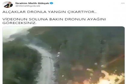 EGM'den açıklama; Bazı sosyal medya hesaplarında paylaşılan ve drone olduğu değerlendirilen bir hava aracından alev püskürtüldüğüne ilişkin görüntülerin Türkiye ile ilgisi yoktur