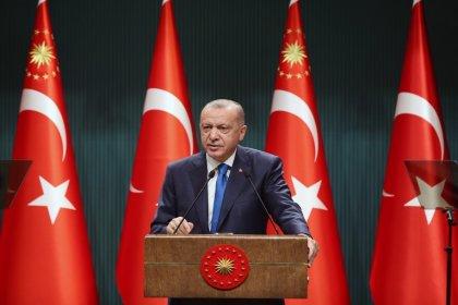 Erdoğan; ABD Başkanı Biden yayınladığı mesajla Radikal Ermeni çevrelerin ve Türkiye karşıtı çevrelerin baskısıyla metne yer verildiğini düşünüyoruz