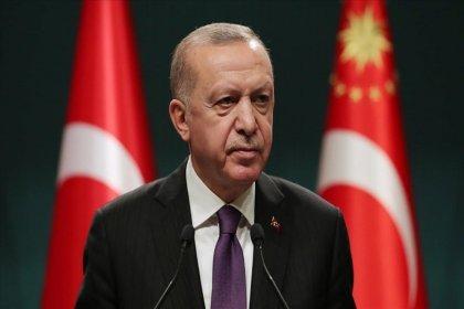 Erdoğan: Ayasofya'nın dirilişi bir kez daha hayırlı olsun