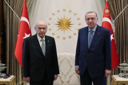 Erdoğan, Bahçeli ile bir araya geldi