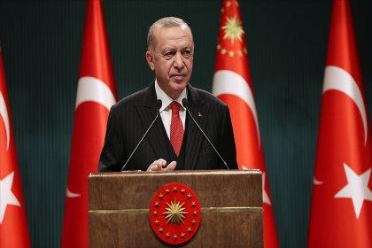 Erdoğan: Elbette sıkıntılarımız var ama geleceğe ümitle bakmak için pek çok sebebe sahibiz