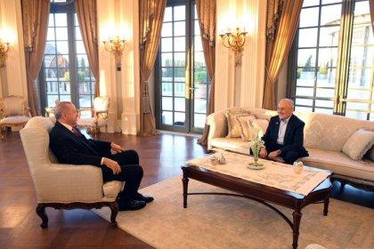 Erdoğan, Oğuzhan Asiltürk ile iftarda bir araya geldi
