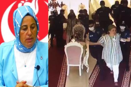 Erdoğan ve AKP'yi eleştiren BBP Kadın Kolları Başkanı gözaltına alındı