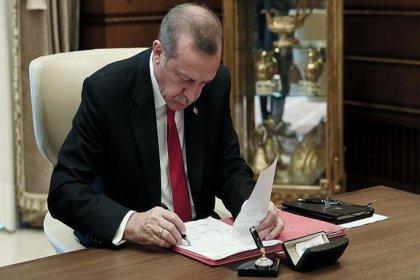 Erdoğan'dan 5 bakanlığa atama kararı