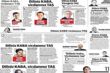 Faruk Bildirici'den yandaş yazarlara 'Kabataş yalanı' çağrısı: 'Diliniz kaba vicdanınız taş' değilse özür dileyin