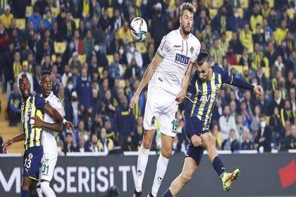 Fenerbahçe 1-2 A. Alanyaspor