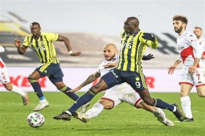 Fenerbahçe, Antalyaspor'la 1-1 berabere kaldı