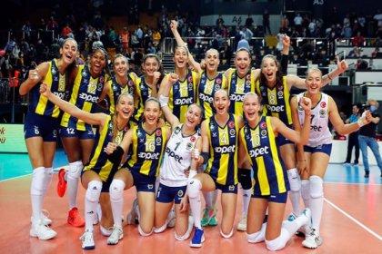 Fenerbahçe, VakıfBank'ı 3-1 mağlup etti