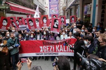 Gezi direnişinin 8. yıl anması engellemelere rağmen yapıldı: 'Gezi'nin haklılığı ve gerçekliği karşısında her seferinde yenileceksiniz'