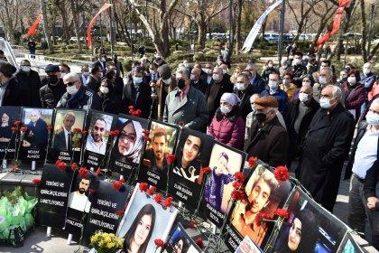 Güvenpark'taki terör saldırısında yaşamını yitirenler anıldı