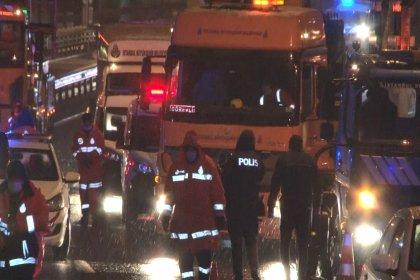 Haliç Köprüsü'ndeki trafik kazasında 2 kişi yaşamını yitirdi