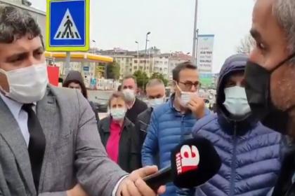 Halk Ekmek büfesi tartışması sonrası Üsküdar'a giden A Haber, yurttaşlardan istediği yanıtı alamayınca röportajı yayınlamadı