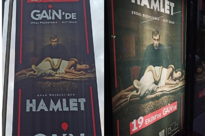 'Hamlet' dizisinin afişi sansürlendi