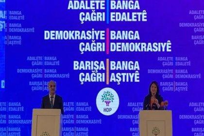 HDP'den 11 maddelik deklarasyon