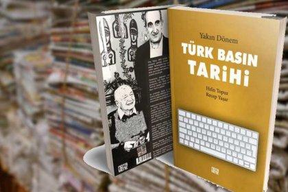 Hıfzı Topuz ve Recep Yaşar'ın Yakın Dönem Türk Basın Tarihi kitabına ÇGD'den ödül
