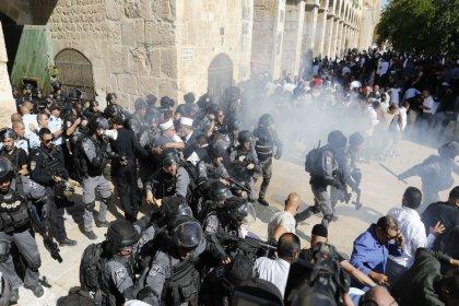 HKP'den Mescid-i Aksa'yı hedef alan İsrail'e tepki