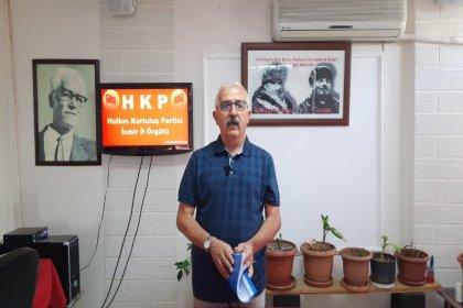 HKP'nin İzmir İl Örgütü'ne asılan 'Diploma Nerede?' pankartı hakkında kovuşturmaya yer olmadığına dair karar çıktı