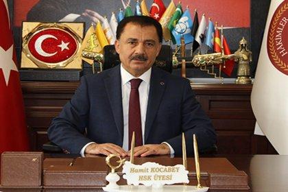 HSK üyeliğinden ayrılan Hamit Kocabey: Devlet Bahçeli ile istişare sonucu istifa ettim