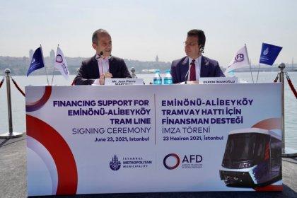 İBB ile AFD arasında 93 milyon euroluk ön protokol imzalandı