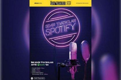 İBB Şehir Tiyatroları Spotify'da
