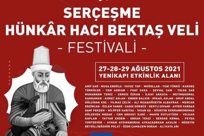 İBB'den 3 günlük Serçeşme Hünkâr Hacı Bektaş Veli Festivali