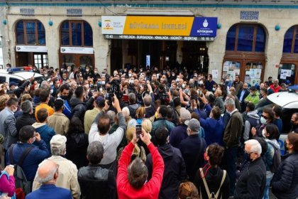 İBB'den Büyükada İskelesi için başvuru: 'Tahliye edin'