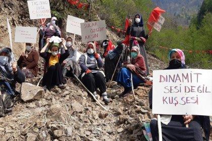 İkizdere'de direnen köylülerden çağrı: Bize arka çıkın, köylüyüz diye ezmeye bakıyorlar