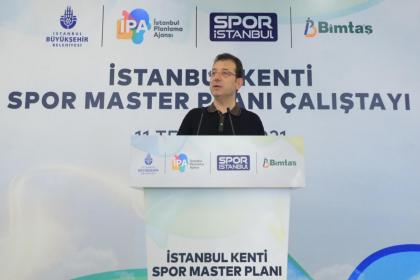İmamoğlu İstanbul Kenti Spor Master Planı Çalıştayı'nda kadınlara seslendi: Genç kızlarımızı farklı çevrelerin baskısından kurtarmak sizlerin elinde