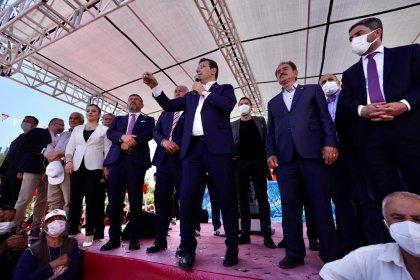 İmamoğlu Malatya'da konuştu: Kılıçdaroğlu ile Akşener Türkiye'yi geleceğe hazırlıyor