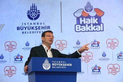 İmamoğlu seçim vaadi olan 'Halk Bakkal'ın tanıtım toplantısında konuştu: Milyonlarca yurttaşımız geçinemiyor, bunu çözmeden mutlu bir geleceğe yürüyemeyiz