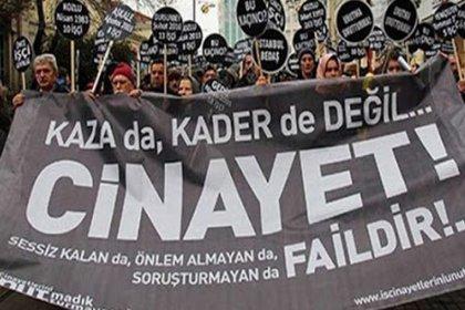 İSİG: 2020 yılında iş cinayetlerinde en az 2 bin 427 işçi hayatını kaybetti