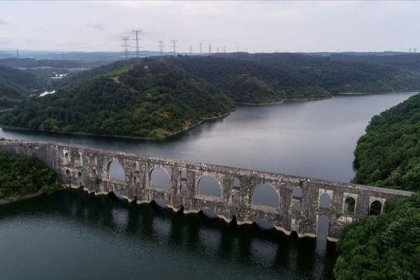 İSKİ: İstanbul'un içme suyu kaynaklarının doluluk oranı yüzde 74,80