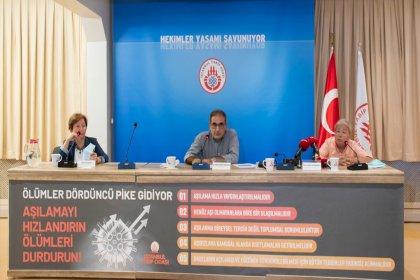 İstanbul Tabip Odası: 'Aşılamayı hızlandırın, ölümleri durdurun'