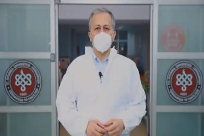 İstanbul Valisi Ali Yerlikaya: Son bir yılda sadece İstanbul'da 33 sağlık çalışanımızı Covid-19 yüzünden kaybettik