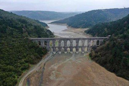 İstanbul'da baraj doluluk oranı yüzde 57,23'e yükseldi