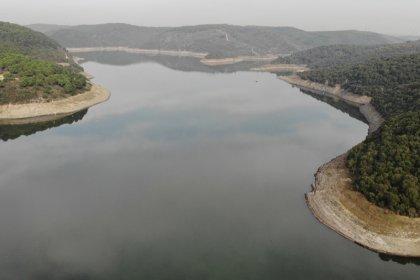 İstanbul'da barajların doluluk oranı yüzde 33,37'ye yükseldi