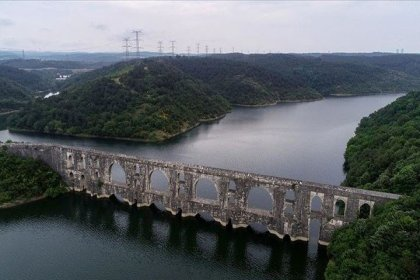 İstanbul'da barajların doluluk oranı yüzde 48,22