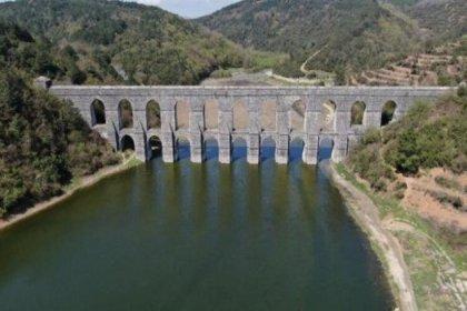 İstanbul'da barajların doluluk oranı yüzde 53,10